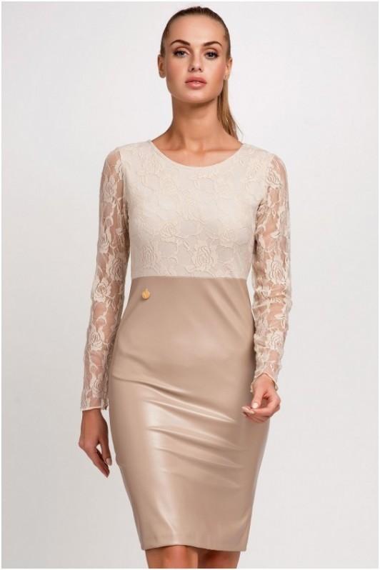 Šviesi elegantiška suknelė