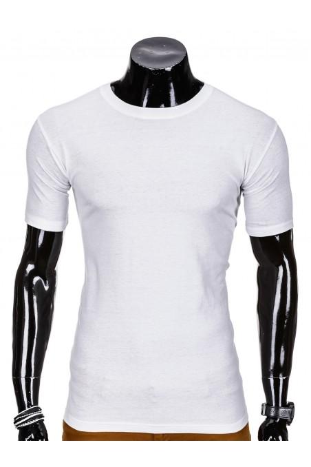 Balti vyriški marškinėliai S620