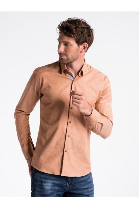 Rudi vyriški marškiniai K487