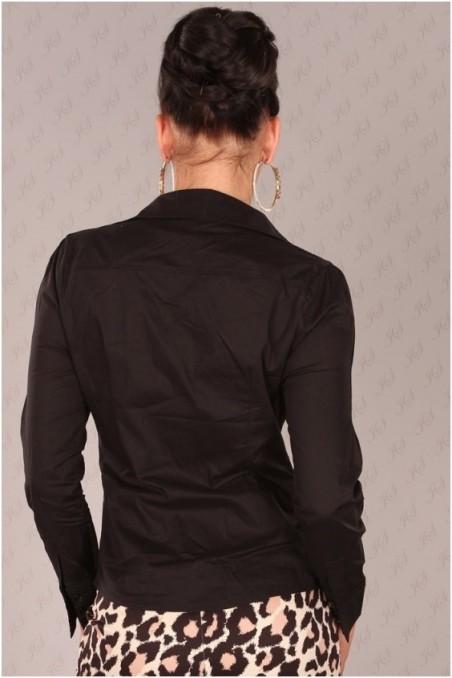 Juodi marškinukai ilgom rankovėm