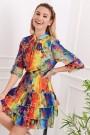 Marga elegantiška suknelė