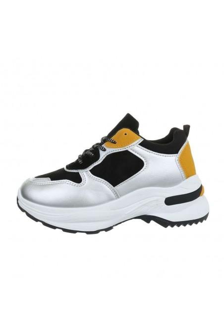 Sidabriniai laisvalaikio batai