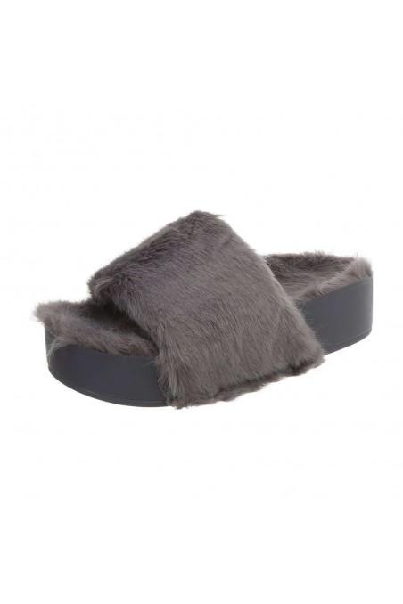 Moteriški sandalai pilkos spalvos