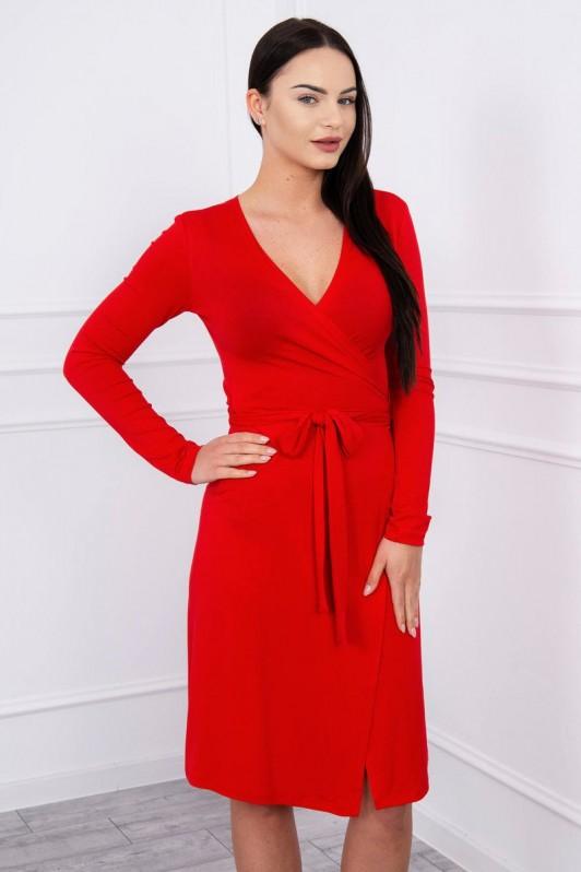 Raudona suknelė