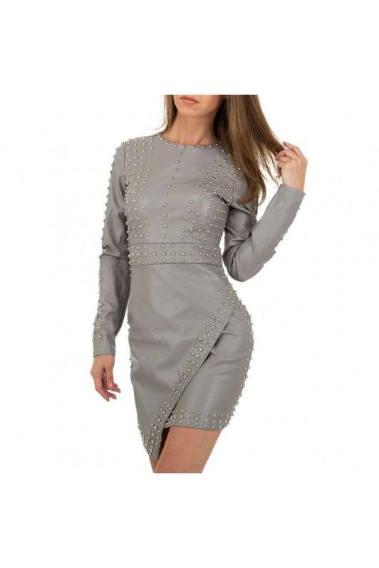 Pilka stilinga suknelė