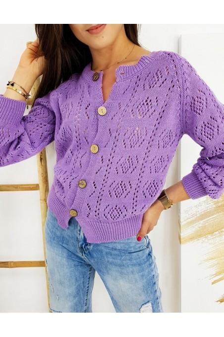 Moteriškas megztinis NATALIE alyvinės spalvos