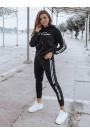 Moteriškas sportinis kostiumas FEBRIS juodas